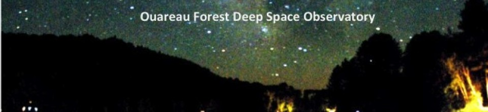 Ouareau Forest Deep Space Observatory